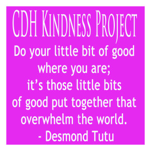 CDH Kindness Project - Pink