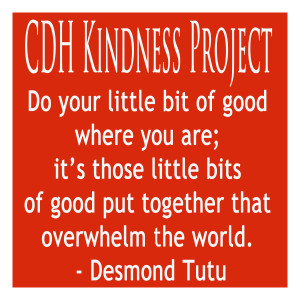 CDH Kindness Project - Red
